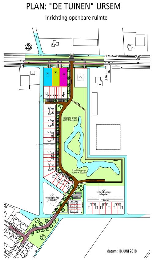 Plan De Tuinen Ursem inrichting openbare ruimte